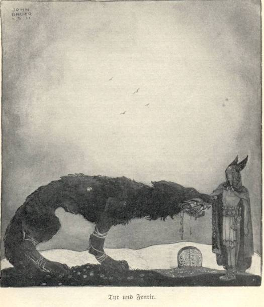 John_Bauer-Tyr_and_Fenrir